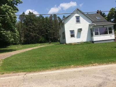 Waukesha County Single Family Home For Sale: S66w28320 River Rd
