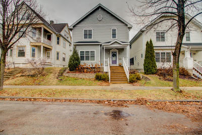 Milwaukee Single Family Home Active Contingent With Offer: 2028 N Hubbard St