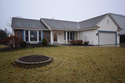 Jackson WI Single Family Home Active Contingent With Offer: $305,900