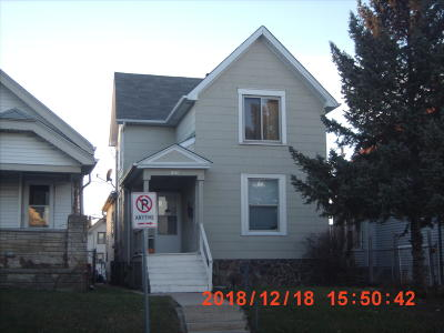 West Allis Two Family Home Active Contingent With Offer: 1679 S 71st St #1679A