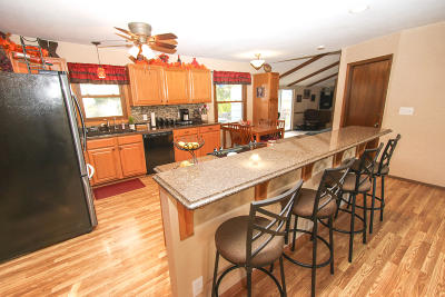 Single Family Home Active Contingent With Offer: N99w16981 Chick A Dee Ct