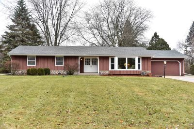Brookfield Single Family Home Active Contingent With Offer: 17385 Continental Dr