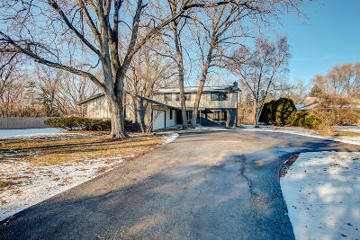 Elm Grove Single Family Home Active Contingent With Offer: 15230 Watertown Plank Rd