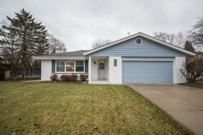 Waukesha Single Family Home Active Contingent With Offer: 1827 Cottonwood Dr