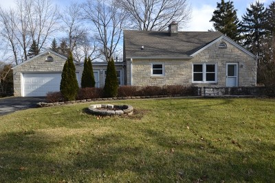 Elm Grove Single Family Home Active Contingent With Offer: 1430 Woodside Ln