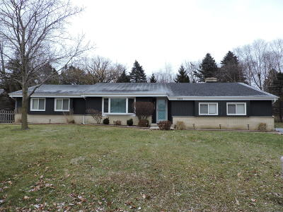 Racine Single Family Home Active Contingent With Offer: 5303 Willowview Rd