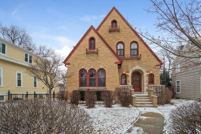 Whitefish Bay Single Family Home Active Contingent With Offer: 406 E Hampton Rd