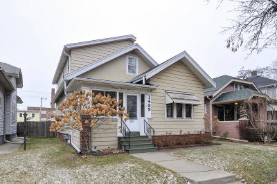 Racine Single Family Home Active Contingent With Offer: 1429 Hayes Ave