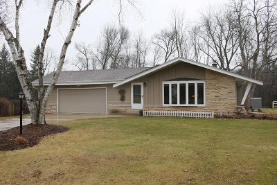 Single Family Home Active Contingent With Offer: 14837 W Rogers Dr