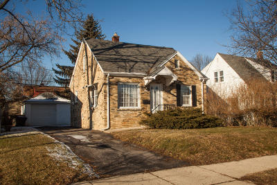 West Allis Single Family Home Active Contingent With Offer: 1497 S 93rd St