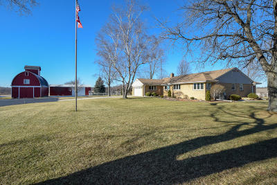 Racine County Single Family Home Active Contingent With Offer: 3208 Maple Rd