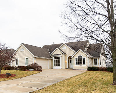 Menomonee Falls Single Family Home Active Contingent With Offer: N66w13631 Crestwood Dr