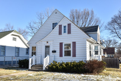 Single Family Home Active Contingent With Offer: 302 N 70th St