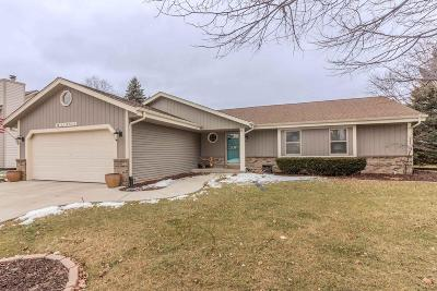 Menomonee Falls Single Family Home Active Contingent With Offer: W152n7433 Westwood Dr