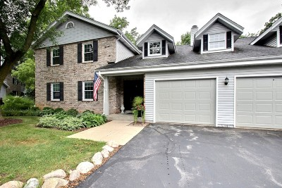 Delafield Condo/Townhouse Active Contingent With Offer: 2368 Quail Hollow Ct #B