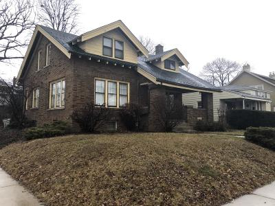 Milwaukee Single Family Home For Sale: 4834 W Wisconsin Ave