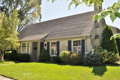 Whitefish Bay Single Family Home Active Contingent With Offer: 133 W Monrovia Ave