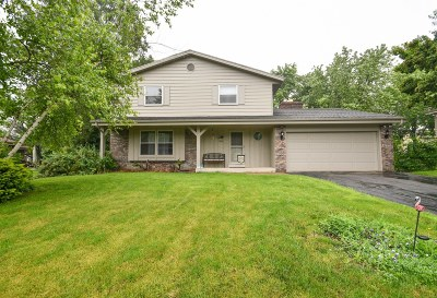 Racine Single Family Home Active Contingent With Offer: 5315 Oak Forest Dr