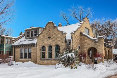 Wauwatosa Single Family Home Active Contingent With Offer: 1448 Church St