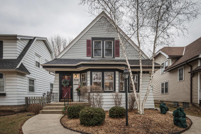 Single Family Home Active Contingent With Offer: 2414 N 65th St