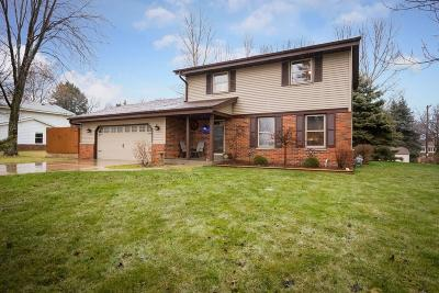Single Family Home Active Contingent With Offer: 4530 S Calhoun Rd