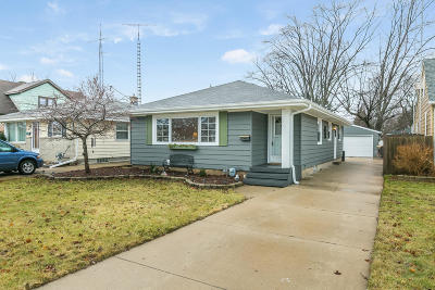 Kenosha Single Family Home Active Contingent With Offer: 2810 23rd Ave