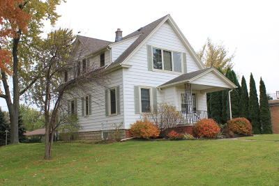 Sheboygan Falls Single Family Home Active Contingent With Offer: 132 Fond Du Lac Ave