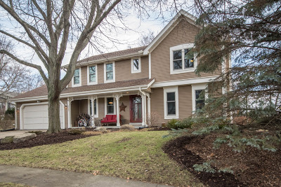 Waukesha Single Family Home Active Contingent With Offer: 1223 Sweetbriar Dr