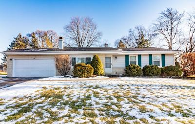 Menomonee Falls Single Family Home Active Contingent With Offer: W161n9506 Blackfoot Dr