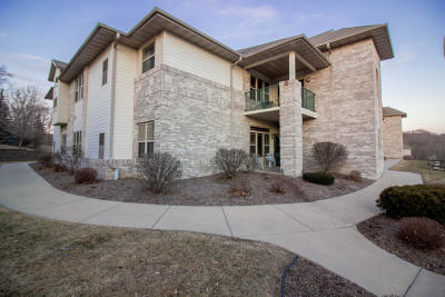 West Bend Condo/Townhouse Active Contingent With Offer: 470 N Silverbrook Dr #101