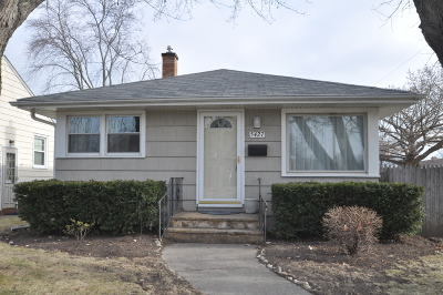 Kenosha Single Family Home Active Contingent With Offer: 5427 32nd Ave