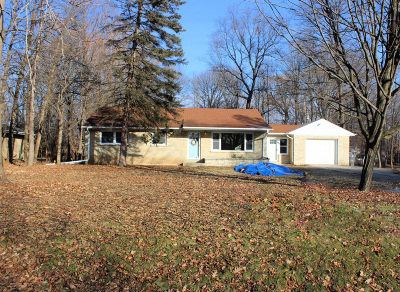 Single Family Home Active Contingent With Offer: 15930 W Mayflower Dr
