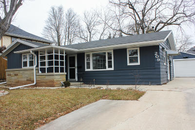 Plymouth Single Family Home Active Contingent With Offer: 209 Bishop Ave
