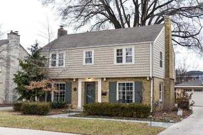 Wauwatosa Single Family Home Active Contingent With Offer: 2338 N 88th St