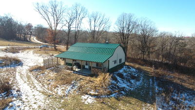 Vernon County Single Family Home Active Contingent With Offer: S8184 Peterson Rd