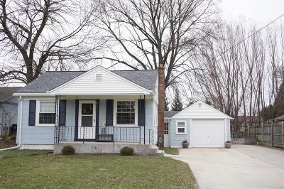 Cedar Grove Single Family Home Active Contingent With Offer: 228 N Main St