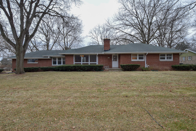 West Allis Single Family Home Active Contingent With Offer: 11705 W Lincoln Ave