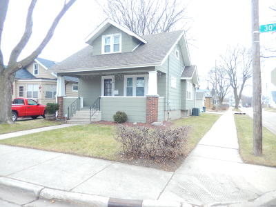 Kenosha Single Family Home Active Contingent With Offer: 6609 30th Ave