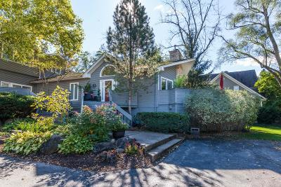 Lake Geneva Condo/Townhouse Active Contingent With Offer: 522 Baker St #D