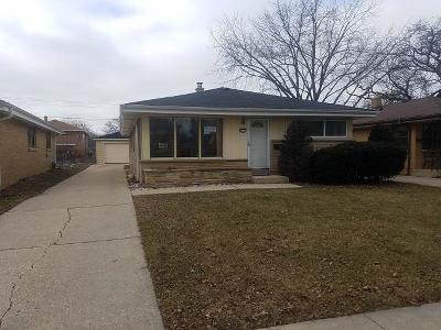 Milwaukee Single Family Home For Sale: 4255 N 89th St