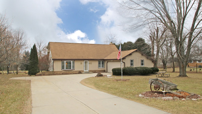 Town Richfield, Village Richfield, Hubertus, Colgate Single Family Home Active Contingent With Offer: 3715 Hillview Ct