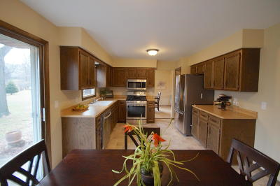 Single Family Home For Sale: W165n10432 Wagon Trail