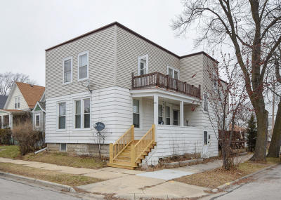 South Milwaukee Multi Family Home Active Contingent With Offer: 900 Monroe Ave