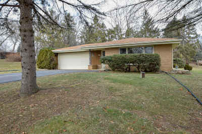 Single Family Home For Sale: 18100 W Crab Tree Ln