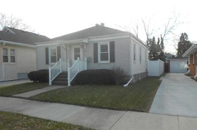Racine Single Family Home For Sale: 1517 Isabelle