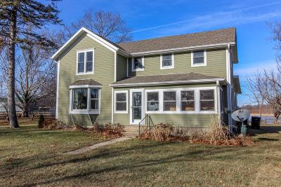 Jefferson County Single Family Home Active Contingent With Offer: W9160 Bussey Rd