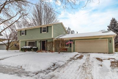 Cedarburg Single Family Home Active Contingent With Offer: N97w6656 Aspen St