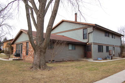 Milwaukee Condo/Townhouse Active Contingent With Offer: 6938 N Raintree Dr #C
