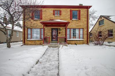 Milwaukee County Single Family Home For Sale: 2363 S 83rd St