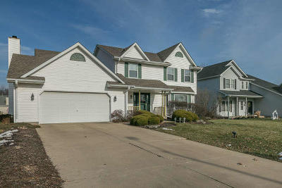 Pleasant Prairie WI Single Family Home Active Contingent With Offer: $309,900